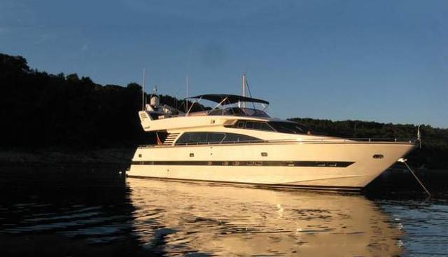 Elegance 76 New Line Charter Yacht