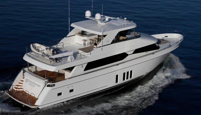 Entrepreneur Charter Yacht
