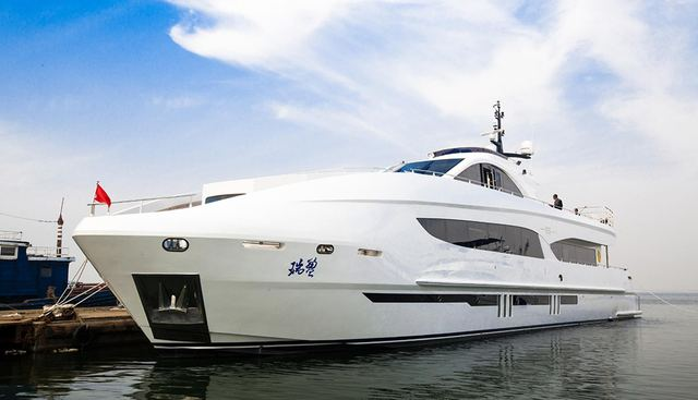 Ruiying 125 Charter Yacht