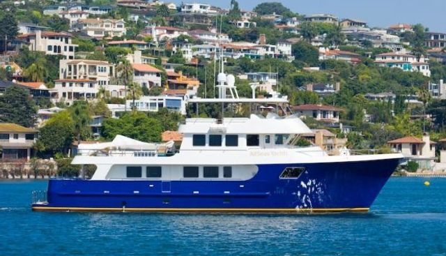Heaven's Gate Charter Yacht