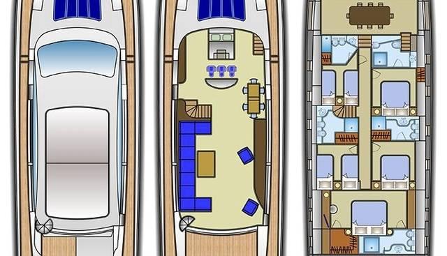 Tecnomar Velvet 36 Charter Yacht - 4