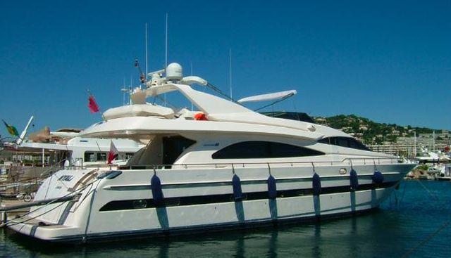 Tiffany Charter Yacht