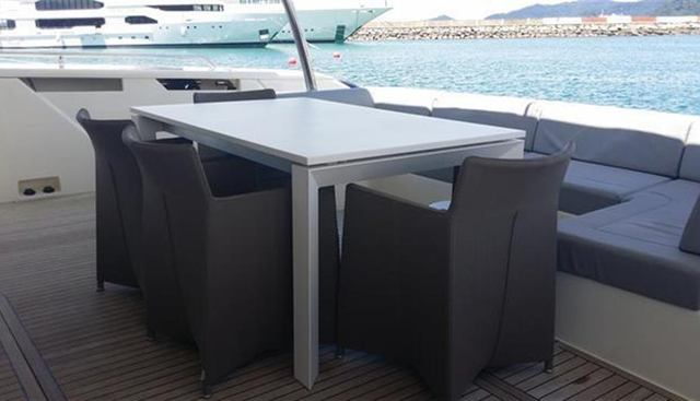 Ferretti 960 Charter Yacht - 6