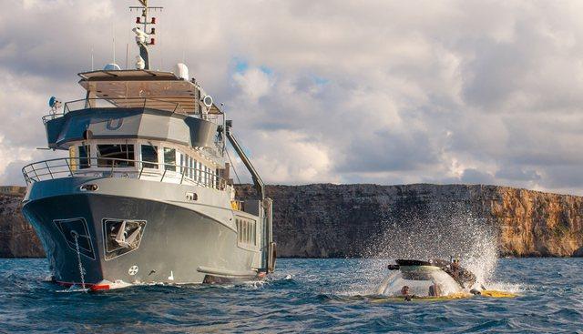 U-Boat Navigator Charter Yacht