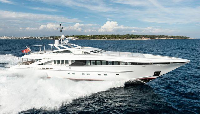 Her Destiny Charter Yacht