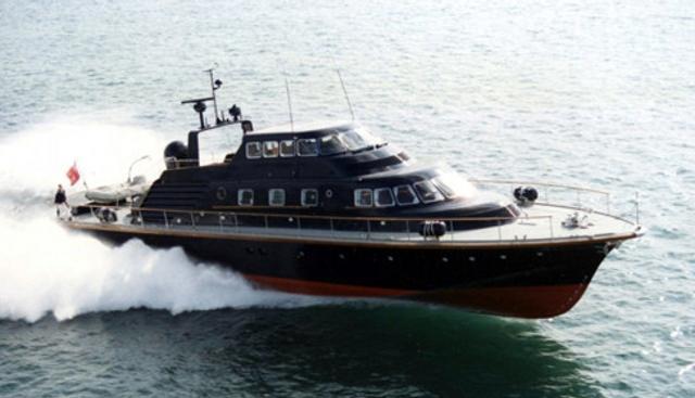 Brave Challenger Charter Yacht