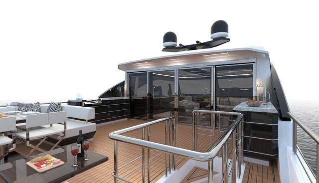 Ocean Alexander 84R/ 01 Charter Yacht - 2