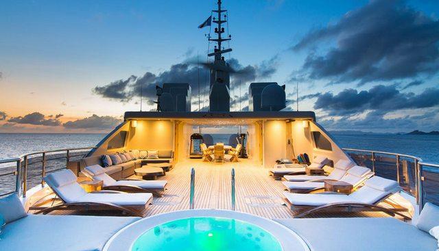 O'MEGA Yacht Charter Price - Mitsubishi Heavy Industries Luxury ...