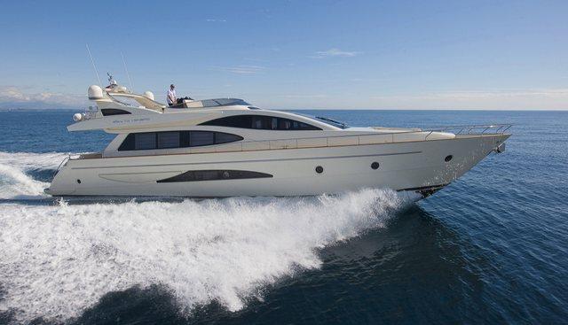 Stingray M Charter Yacht