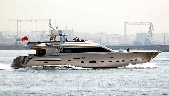 Golden K Charter Yacht