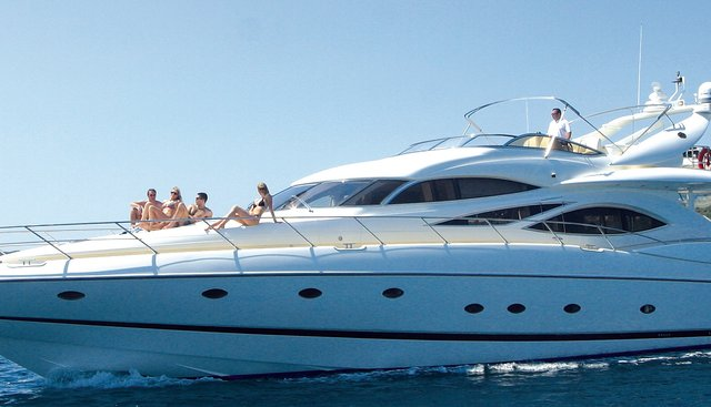 Sir Oliver Charter Yacht
