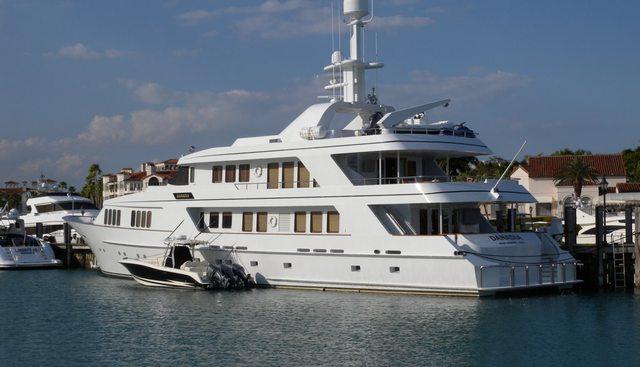 Danadia Charter Yacht