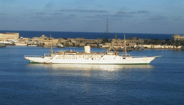El Mahrousa Charter Yacht