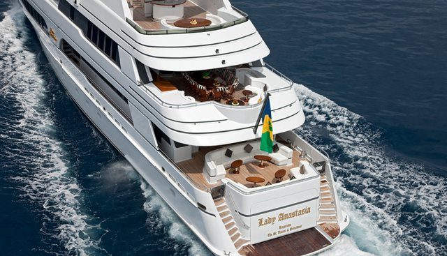 Lady Anastasia Charter Yacht - 4