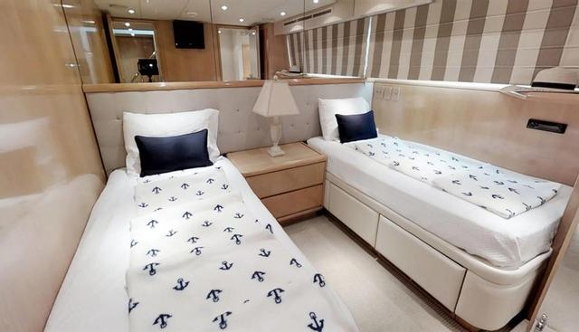 92' Hatteras Charter Yacht - 8