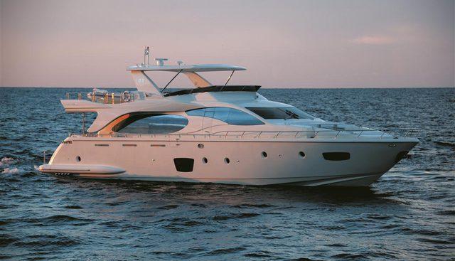 Mercedes Charter Yacht