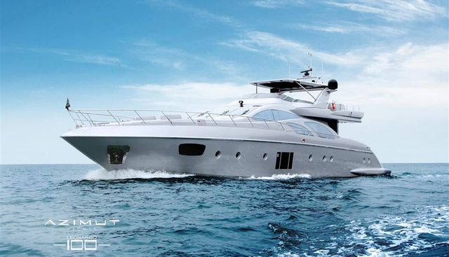 Azimut 100 Leonardo Charter Yacht