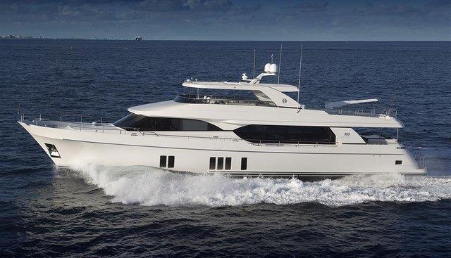Ocean Alexander 100 Hull #2 Charter Yacht