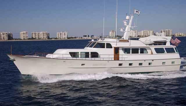 Pyewacket Charter Yacht