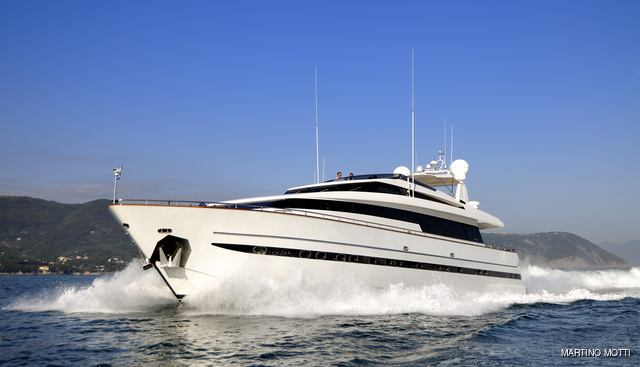 Aria Charter Yacht