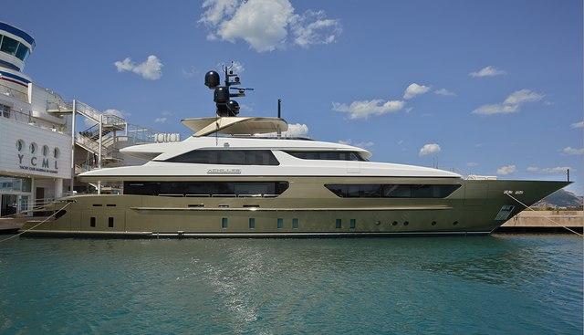 Apries W Charter Yacht