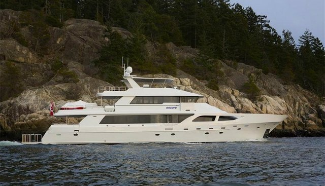 Encore Charter Yacht