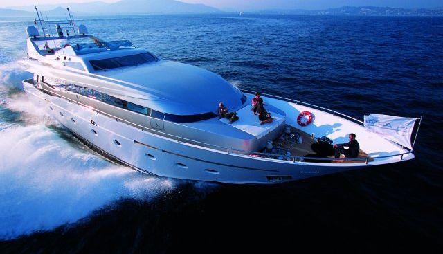 Technema 105 Charter Yacht