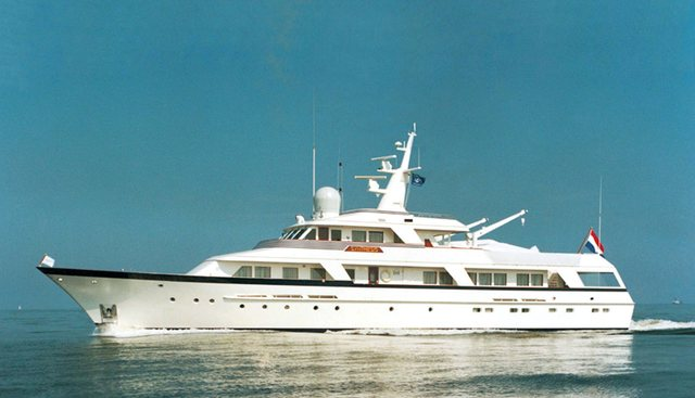 Synthesis 66 Charter Yacht