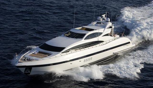 Bellissima CC Charter Yacht