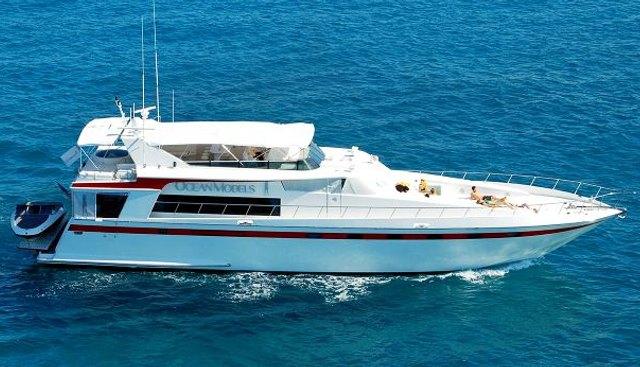 Ocean Models Charter Yacht