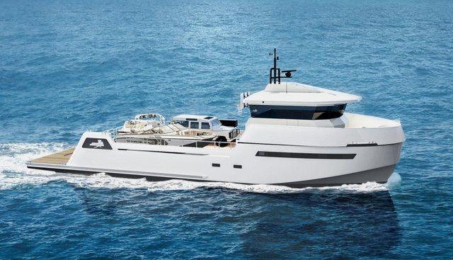 Wally Shadow Charter Yacht