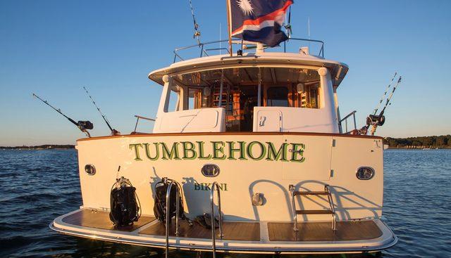 Tumblehome Charter Yacht - 5
