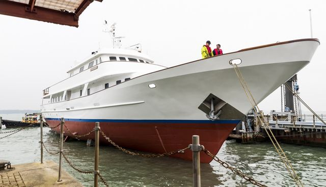 Trafalgar Charter Yacht