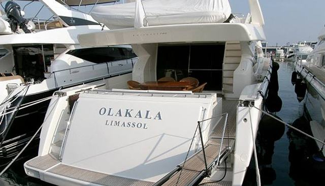 Olakala Charter Yacht