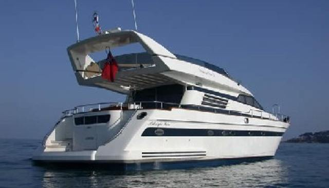 Midnight Rose Charter Yacht