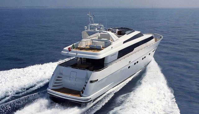 Sky Khan Charter Yacht - 3