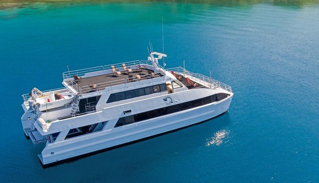 Pacific Quest Charter Yacht