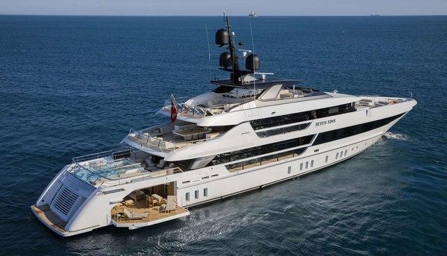 Seven Sins Charter Yacht