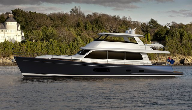 Grand Banks 85 /01 Charter Yacht