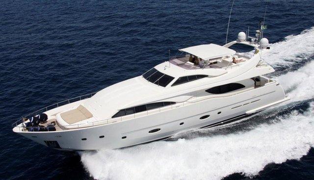 Nati Too Charter Yacht