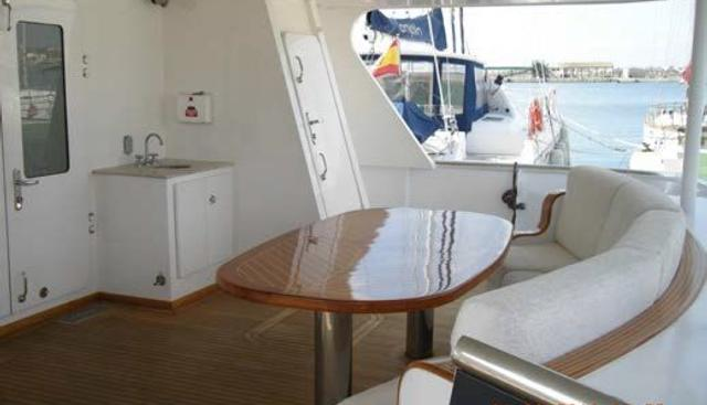 2002 83' Inace Explorer Charter Yacht - 4
