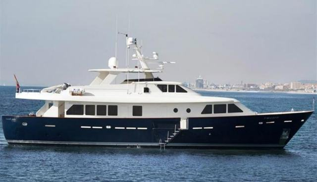 Branded Charter Yacht