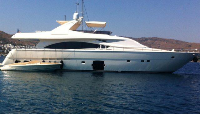 Ferretti 83' Charter Yacht