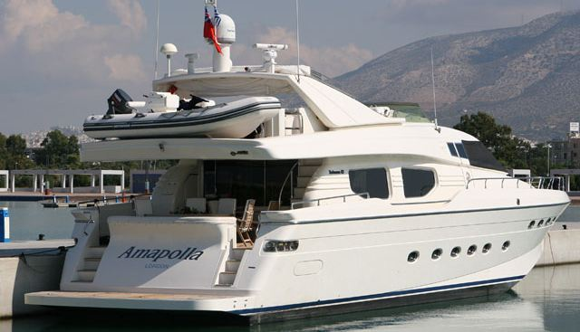 Amapolla Charter Yacht - 4