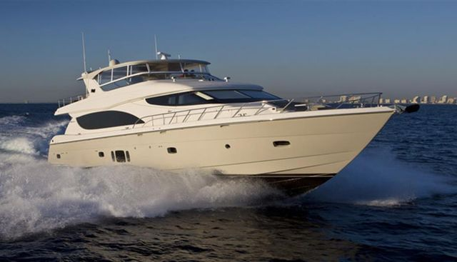 Hatteras 80 Charter Yacht