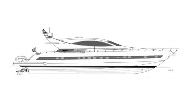 Cerri 86/15 Charter Yacht
