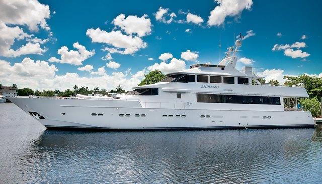 Andiamo Charter Yacht