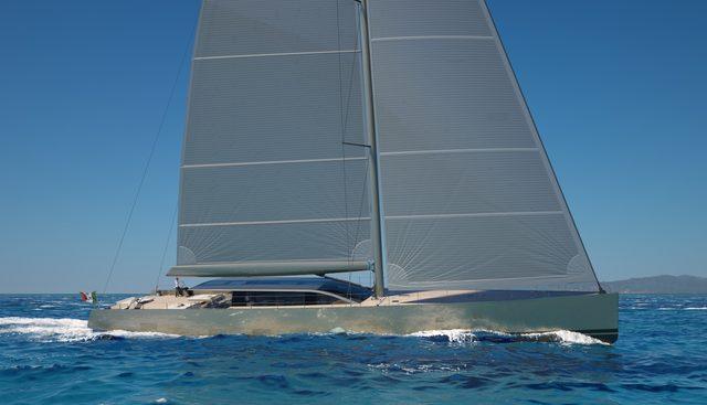 42M E-Volution #1 Charter Yacht