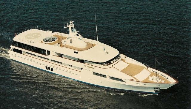 Le Pharaon Charter Yacht