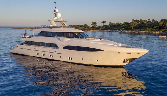 Crystal Charter Yacht